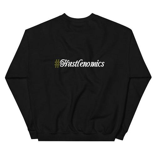 LUSU Designs Unisex Sweatshirt Collection Hustlenomics I Label II
