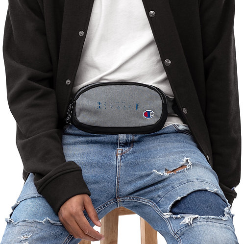 LUSU Champion Fanny Pack Blessed Royal Label