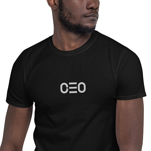 LUSU Designs Short-Sleeve Unisex T-Shirt Collection CEO White Label