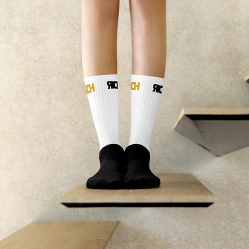 LUSU Designs Sock Collection RICH Combo Label White