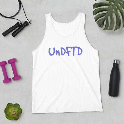 LUSU Designs Unisex Tank Top UnDFTD Purple Label