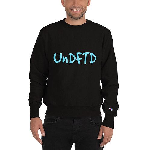 LUSU Designs Champion Sweatshirt Collection UnDFTD Azure Label