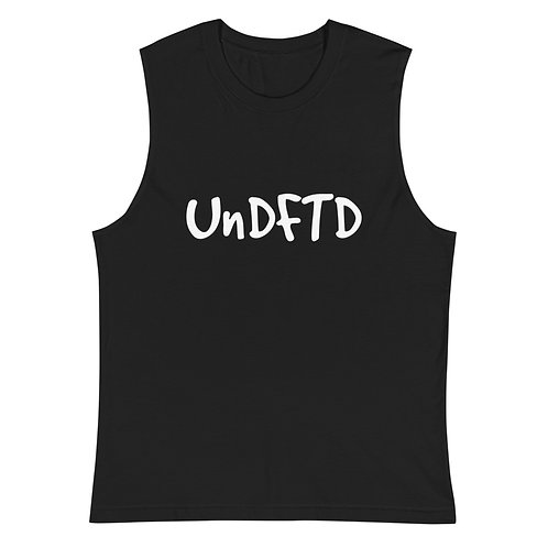 LUSU Designs Muscle Shirt Collection UnDFTD Blanco Label I