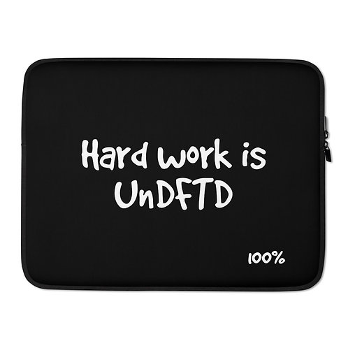 LUSU Designs Laptop Sleeve Collection UnDFTD Label II