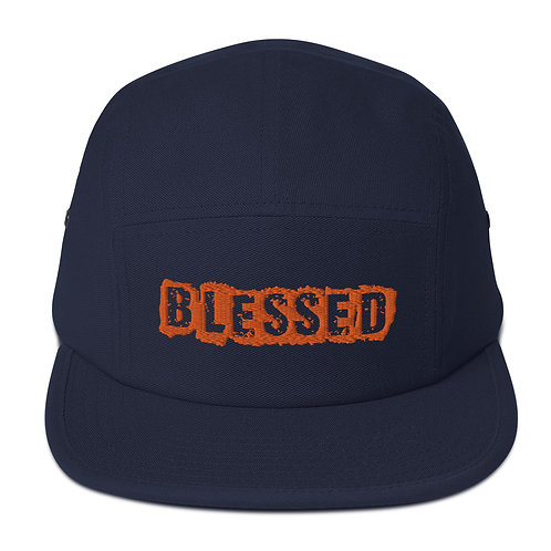 LUSU Designs 5 Panel Camper Collection Blessed Alma Mater Label I