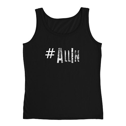 LUSU Designs Ladies' Tank Collection Go Hard Label II