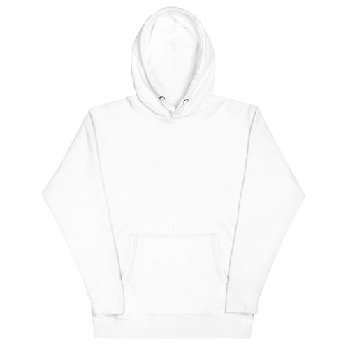 LUSU Designs Unisex Hoodie Collection On My Square Blanco Label III