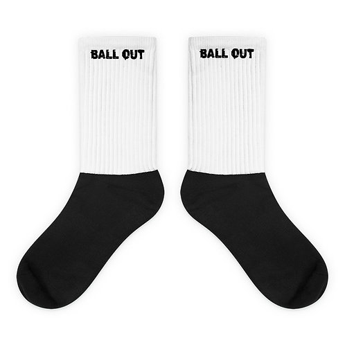 LUSU Designs Sock Collection Ball Out Label I