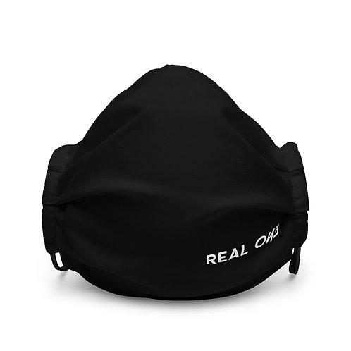 LUSU Designs Premium Face Mask Real One Blanco Label III