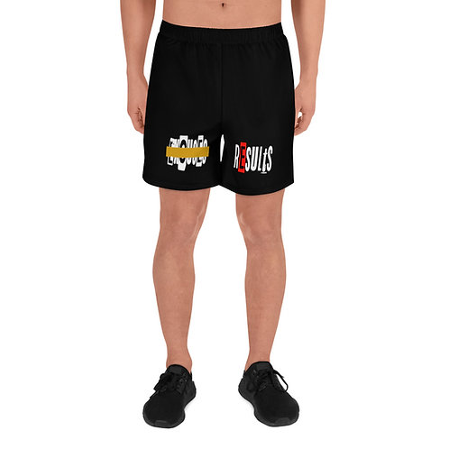 LUSU Designs Men's Athletic Long Shorts Collection Results Fire Label V