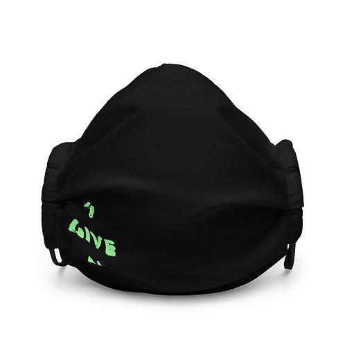 LUSU Designs Premium Face Mask 4GIVEN Kiwi Label II