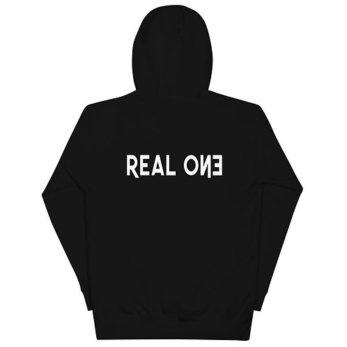 LUSU Designs Unisex Hoodie Collection Real One Blanco Label II