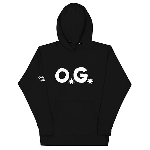 LUSU Designs Unisex Hoodie Collection O.G Label III