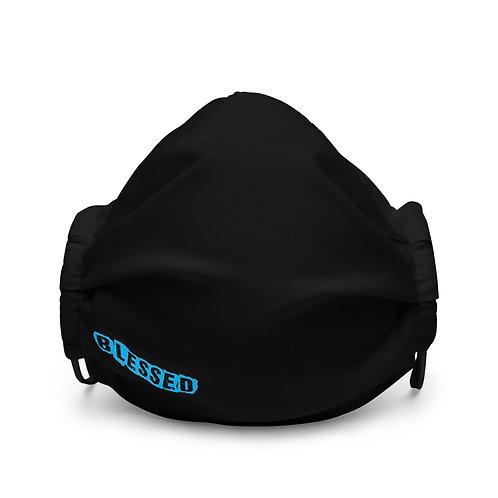 LUSU Designs Premium Face Mask Blessed Azure Label II