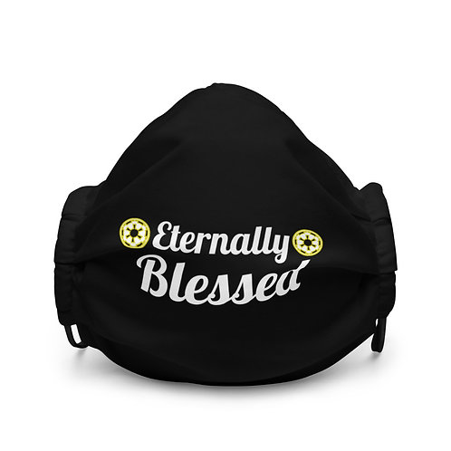 LUSU Designs Premium Face Mask Eternally Blessed Label I