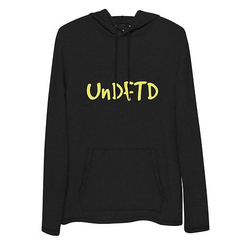 LUSU Designs Unisex Lightweight Hoodie Collection UnDFTD Canary Label