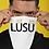 Thumbnail: LUSU Designs Neck Gaiter Noir Label