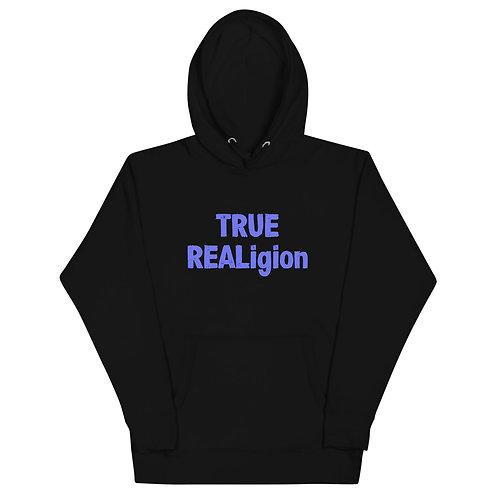 LUSU Designs Unisex Hoodie Collection True REALigion Purple Label I