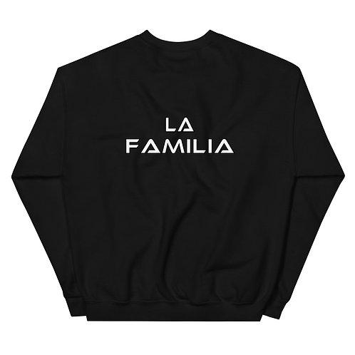 LUSU Designs Unisex Sweatshirt Collection La Familia Label II