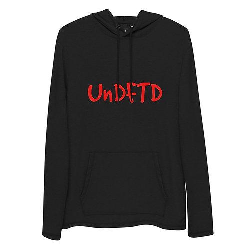 LUSU Designs Unisex Lightweight Hoodie Collection UnDFTD Fire Label I
