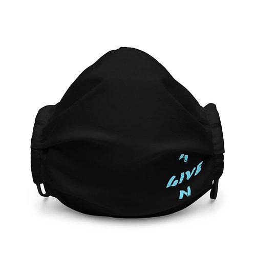 LUSU Designs Premium Face Mask 4GIVEN Azure Label III