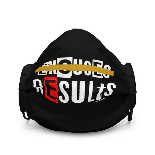 LUSU Designs Premium Face Mask Results Fire II Label I