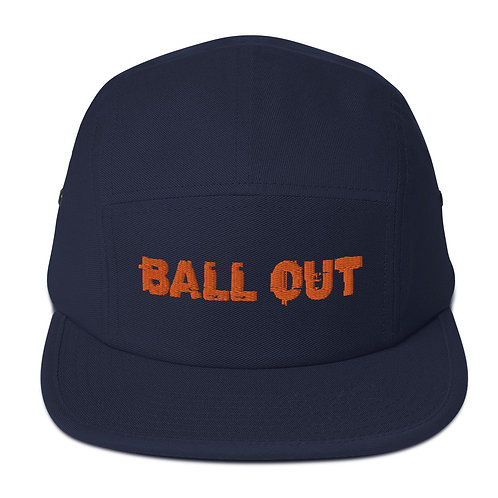 LUSU Desigs 5 Panel Camper Collection Ball Out Tangerine Label