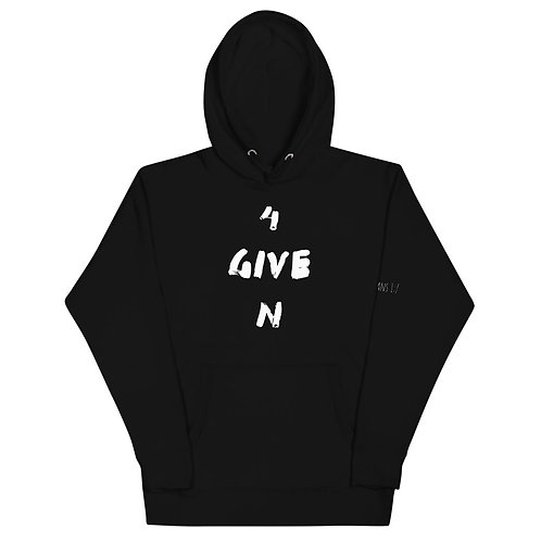 LUSU Designs Unisex Hoodie Collection 4Given Blanco Label III