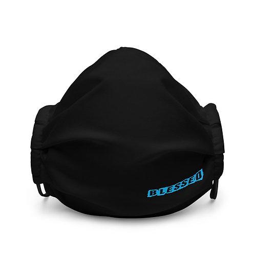LUSU Designs Premium Face Mask Blessed Azure Label III