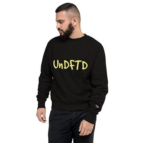LUSU Designs Champion Sweatshirt Collection UnDFTD Canary Label