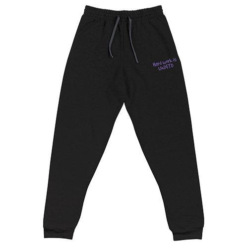 LUSU Designs Unisex Joggers UnDFTD Purple Label II