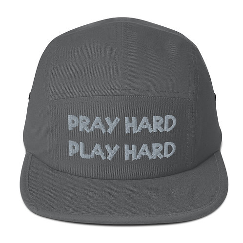 LUSU Desigs 5 Panel Camper Collection Pray Hard Play Hard Platinum Label
