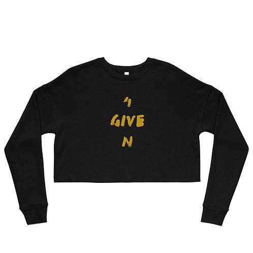 LUSU Designs Crop Sweatshirt Collection 4GIVEN Midas Label