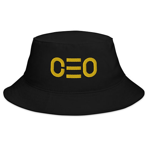 Vital Essence Bucket Hat Collection CEO Midas Label