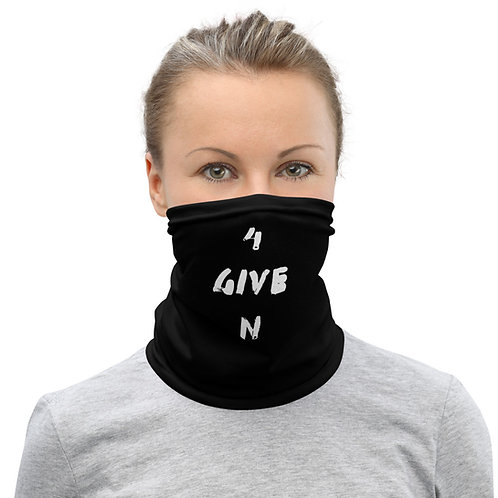 LUSU Designs Neck Gaiter 4GiveN Label I