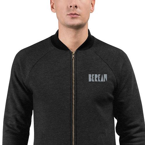 LUSU Designs Bomber Jacket Collection Berean Platinum Label