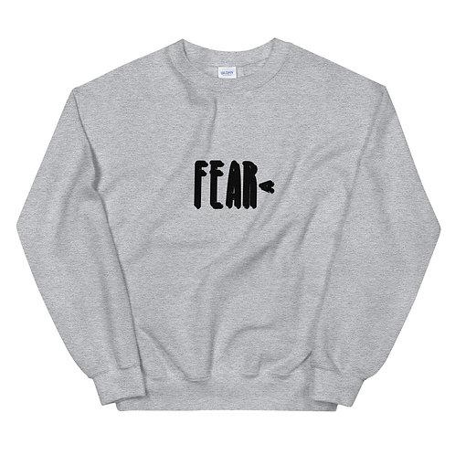 LUSU Designs Unisex Sweatshirt Collection Fearless Noir Label