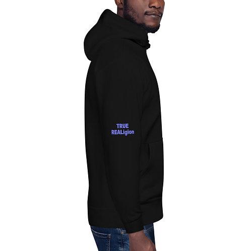 LUSU Designs Unisex Hoodie Collection True REALigion Purple Label II