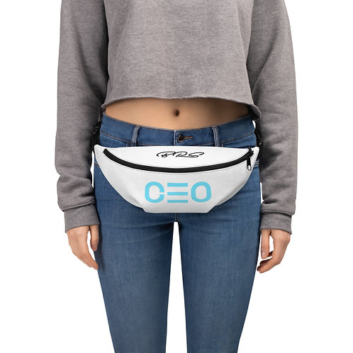 LUSU Designs Fanny Pack Collection CEO Azure Label