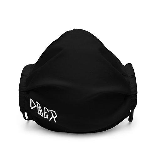 LUSU Designs Premium Face Mask Doer Blanco Label II