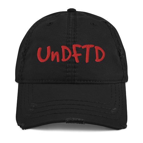 LUSU Designs Distressed Dad Hat Collection UnDFTD Fire Label