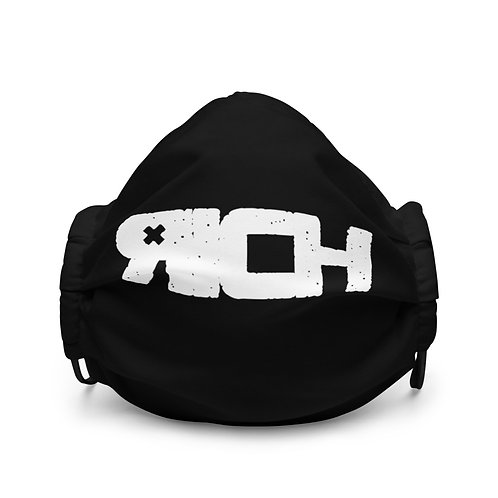 LUSU Designs Premium Face Mask RICH Blanco Label I