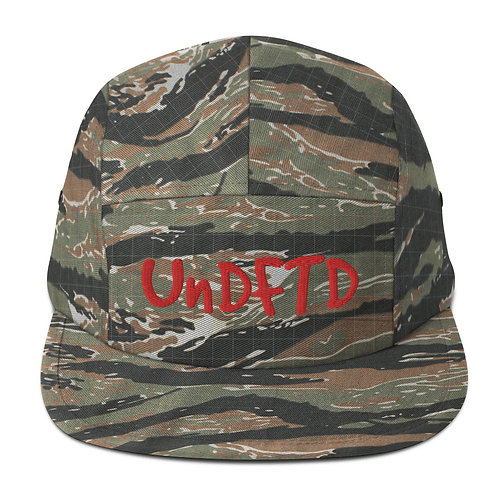 LUSU Designs Five Panel Cap Collection UnDFTD Fire Label