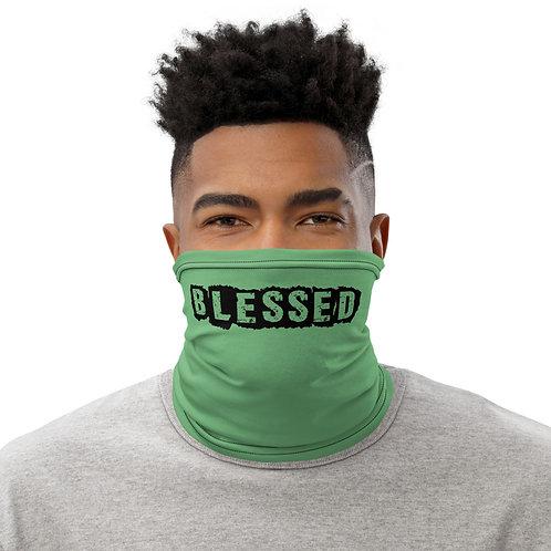 LUSU Designs Neck Gaiter Blessed Noir Label VI