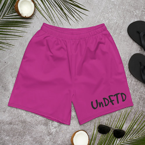 LUSU Designs Men's Athletic Long Shorts Collection UnDFTD Label IV