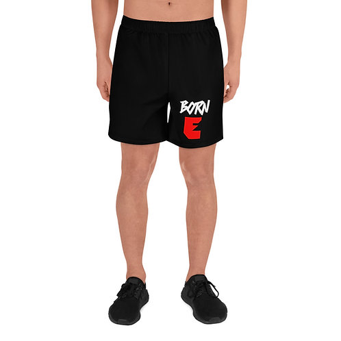 LUSU Designs Men's Athletic Long Shorts Collection Born Ready Label I