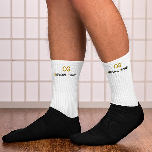 LUSU Designs Sock Collection Fatherhood OG Personal Trainer Combo Label VI