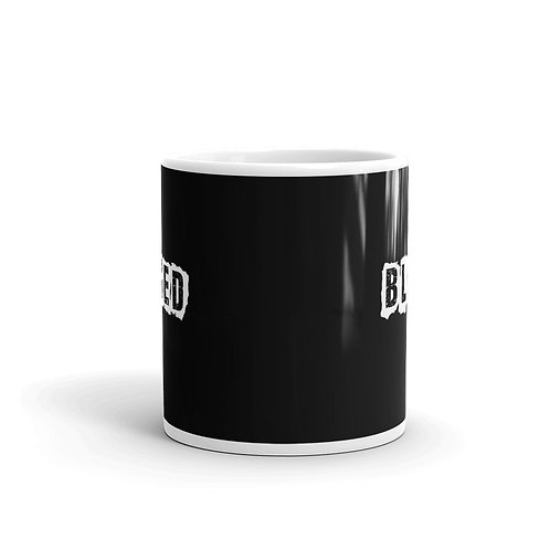 LUSU Designs Mug Collection Blessed White Label III