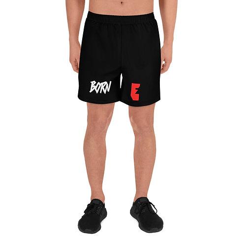 LUSU Designs Men's Athletic Long Shorts Collection Born Ready Label VII