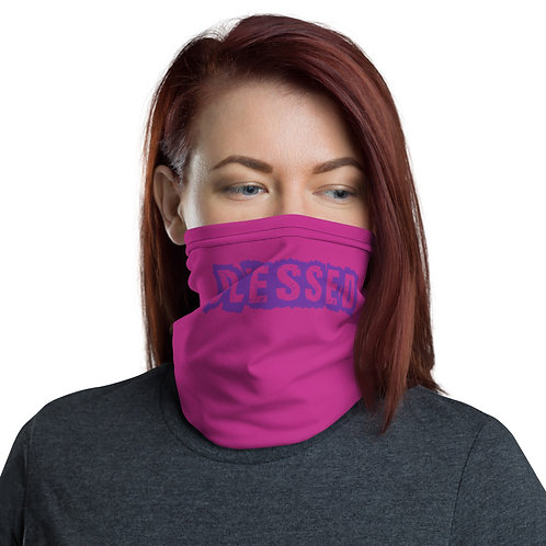 LUSU Designs Neck Gaiter Blessed Purple Label II